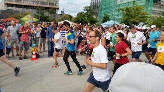Bahnstadtlauf Start Hauptlauf
