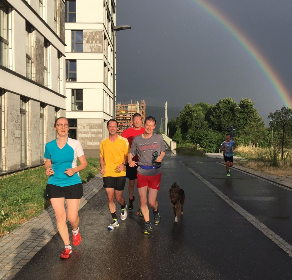 Lauf Regenbogen 1