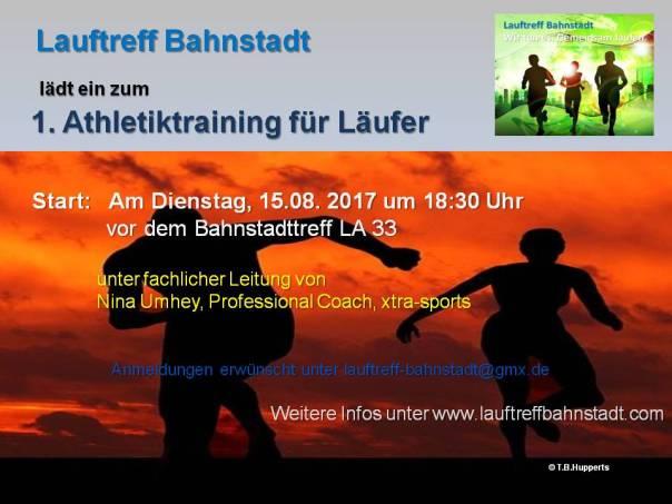1. Athletiktraining für Läufer