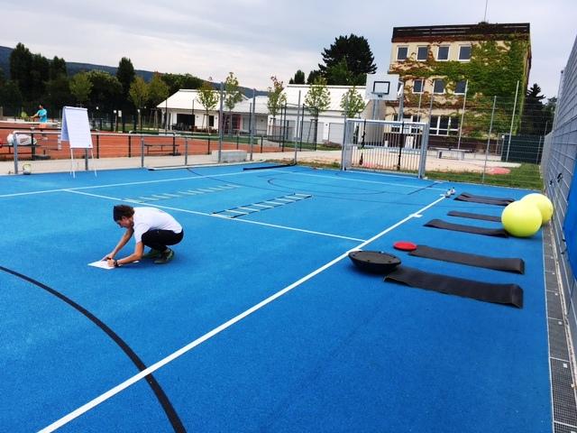 Athletiktraining15.08. Vorbereitungen für den Lauftreff