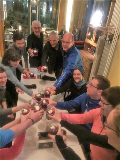 Glückslauf 2018: Glückscocktails bei Sharon im Balthazar