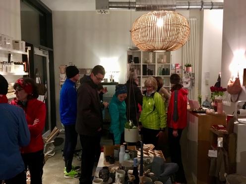 Glückslauf: Besuch und Verkostung bei Victor & Linchen