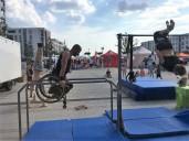 Calistenics- Wahnsinn welche Körperbeherrschung der Athlet drauf hat!