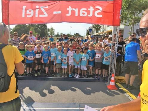 Start des Kinderlaufes