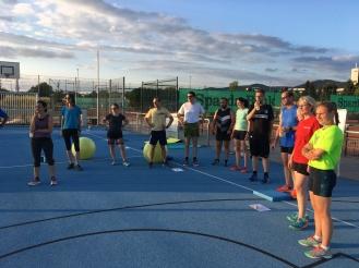 Briefing zum 2. Athletiktraining