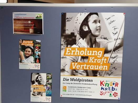 Nikolaus Zipfelmützenlauf Unterschriftenliste Waldpiraten im Bürgerhaus
